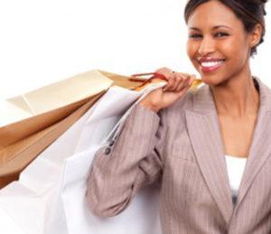 Courtier en crédit shopping